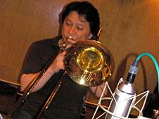 トロンボーン奏者岩崎浩の写真2