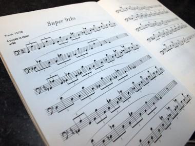 20 minute WARM-UP ROUTNEの楽譜例
