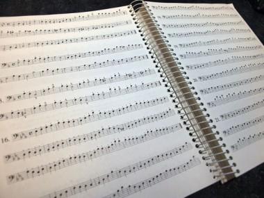 Arban - Complete Method for Trombone & Euphoniumの楽譜例
