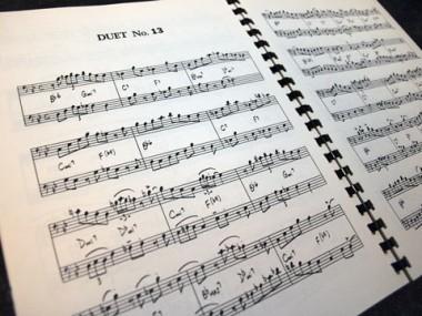 Bop Duetsの楽譜例